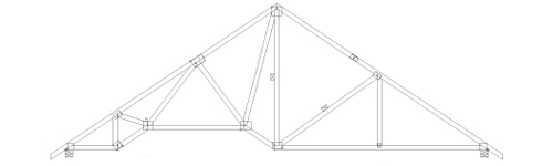 Tray Ceiling Truss